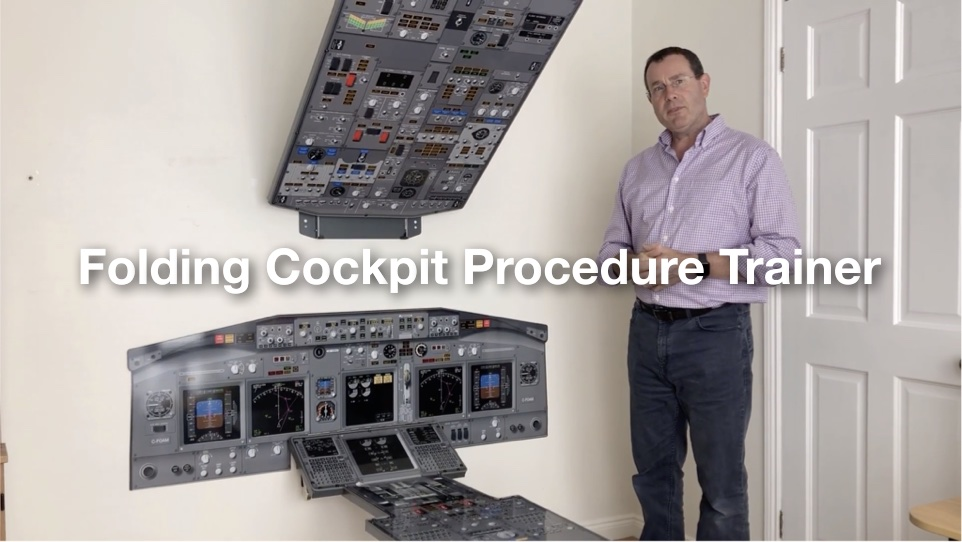 Folding Cockpit Procedure Trainer Video